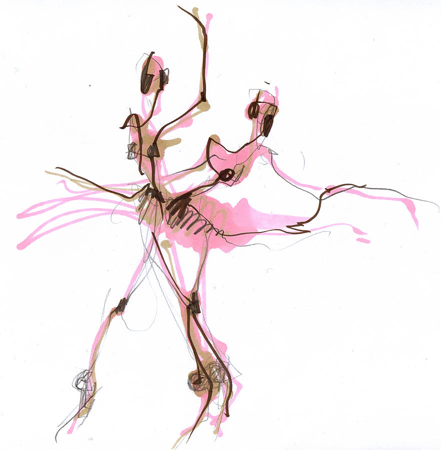 Drawn ballerine tutu #1