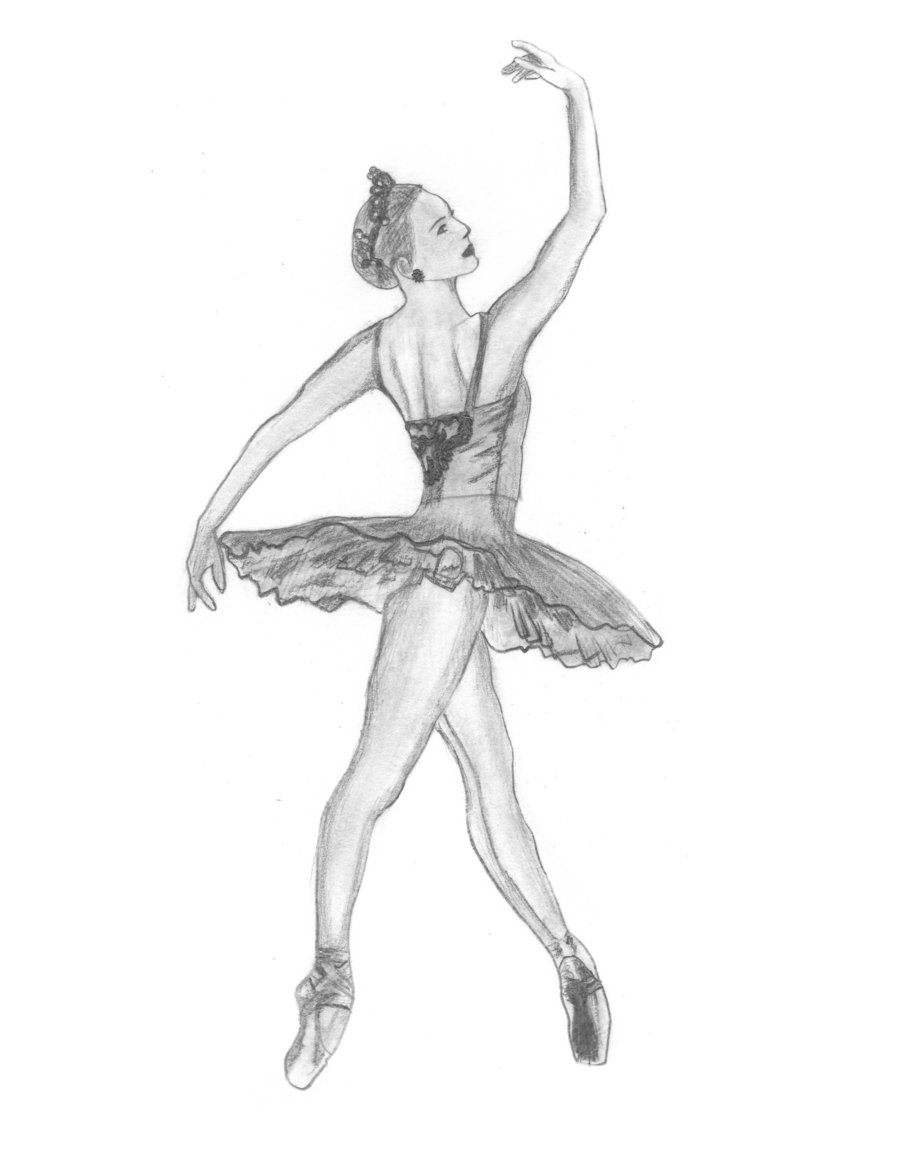 Drawn ballerine tutu #13