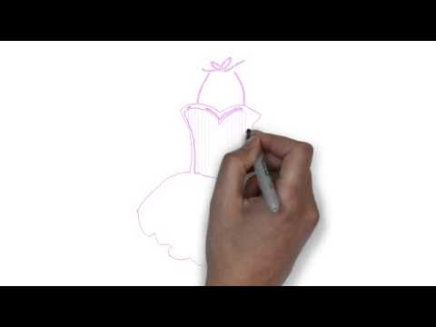 Drawn ballerine tutu Draw Ballerina YouTube Tutu To