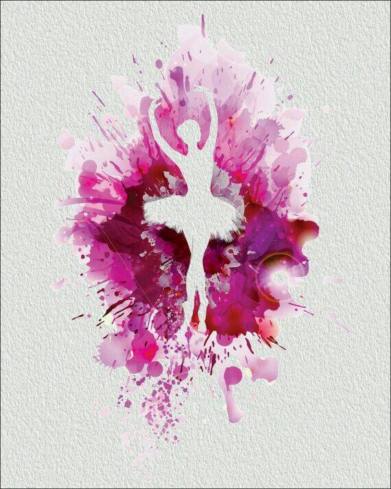 Drawn ballerina color Pinterest Best melted ideas crayon