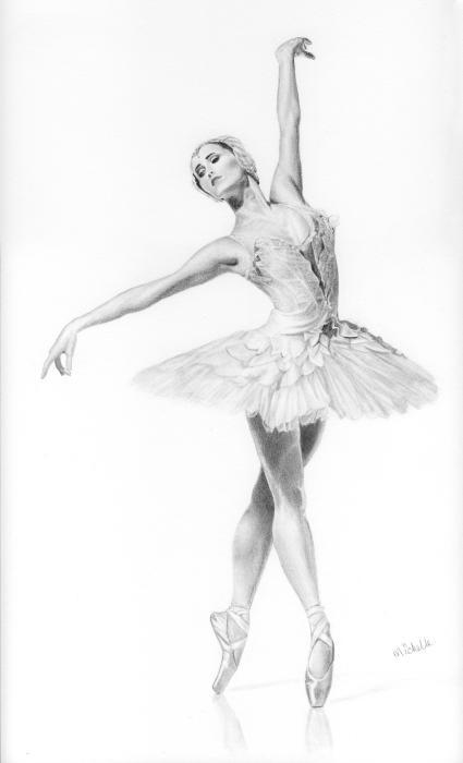 Drawn ballet  Pinterest Ballerina's about 75