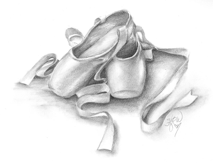 Drawn ballet Second ballet of drawings