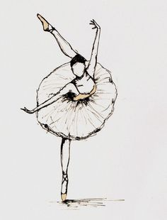 Drawn ballet Drawings IllustrationBallerina · Search Google