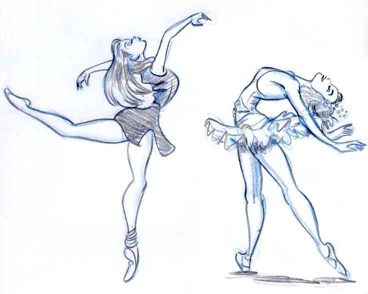 Drawn ballet Ballet1 week Daily 20 Doug's