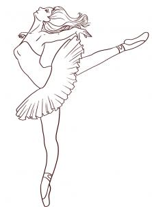 Drawn amd ballerina People People Figures by to