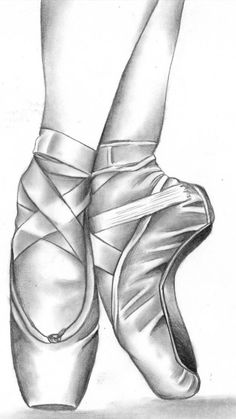 Drawn converse ballet Shoes! ballet drawing Pesquisa Pinterest