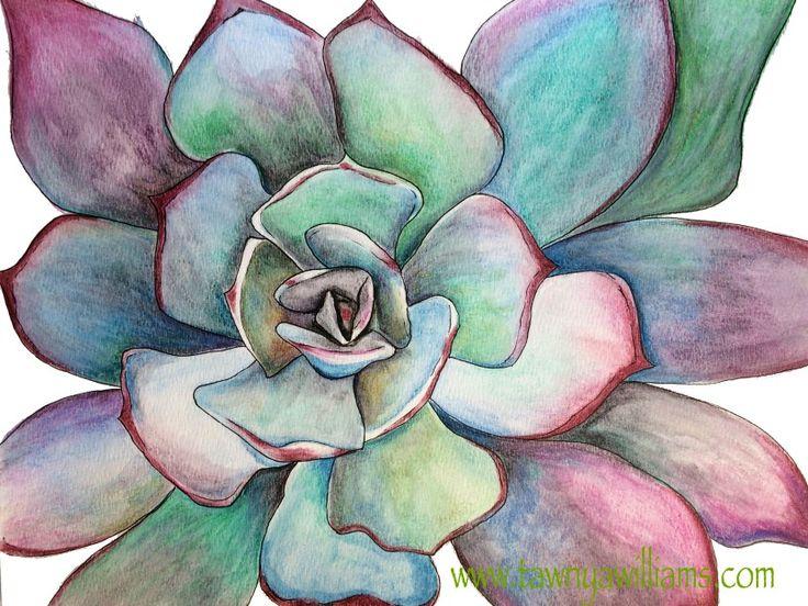 Drawn ballerina derwent inktense Pinterest on Vibrant completed Watercolor