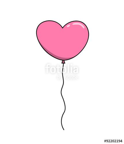 Drawn balloon