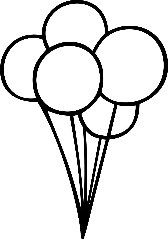 Monochrome clipart balloon Art and clip clip black