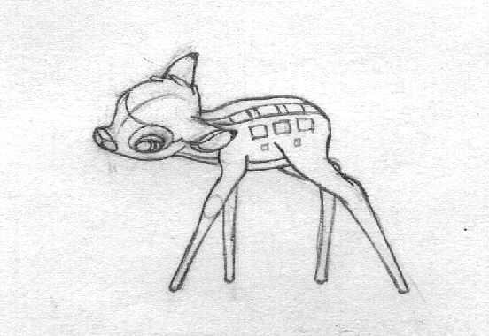 Drawn bambi #11