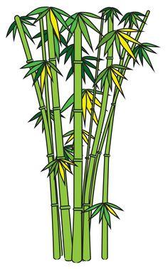 Drawn bamboo How drawing drawn cartoon vector