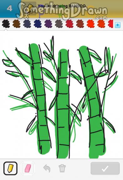 Drawn bamboo BAMBOO Something N SomethingDrawn Sandrine