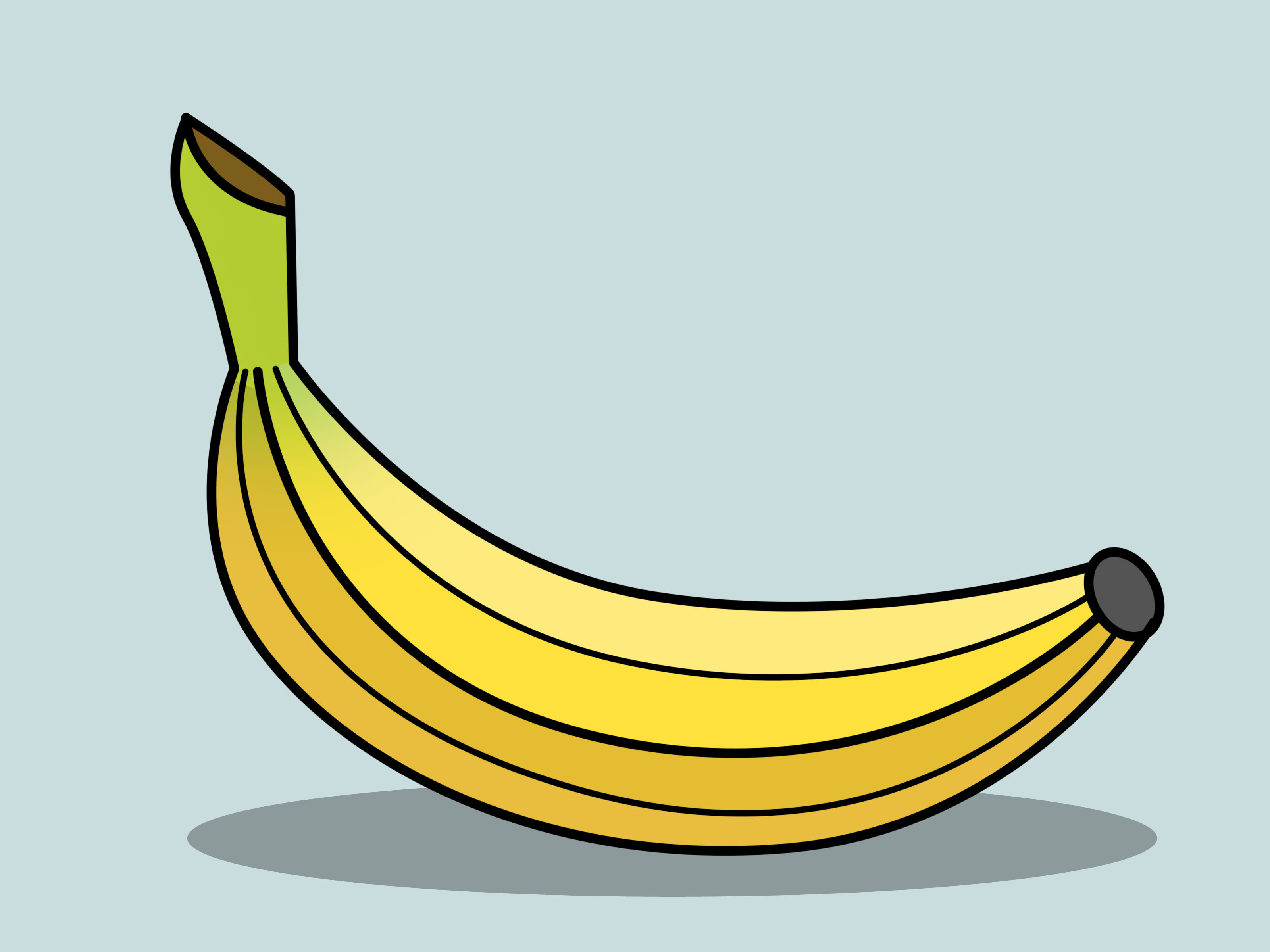 Drawn banana Pictures) 14  Steps a