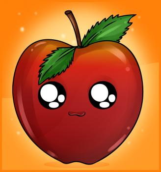 Drawn watermelon Draw an Apple to to