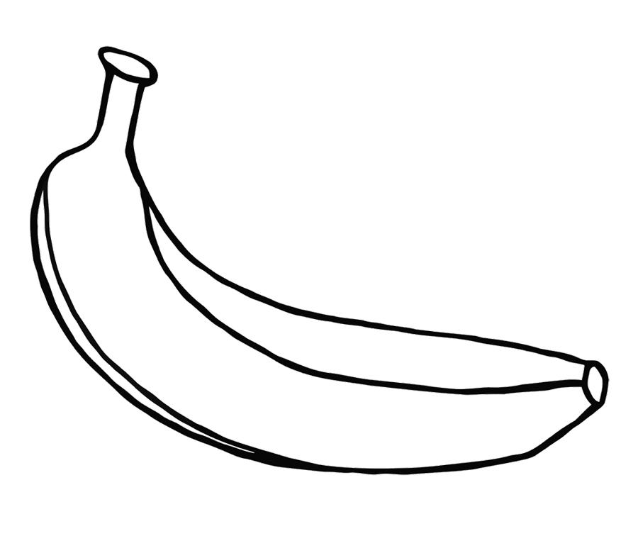 Banana clipart line drawing Split C2be21d6257f174e3135ef6da42de73fjpg Version Full Coloring