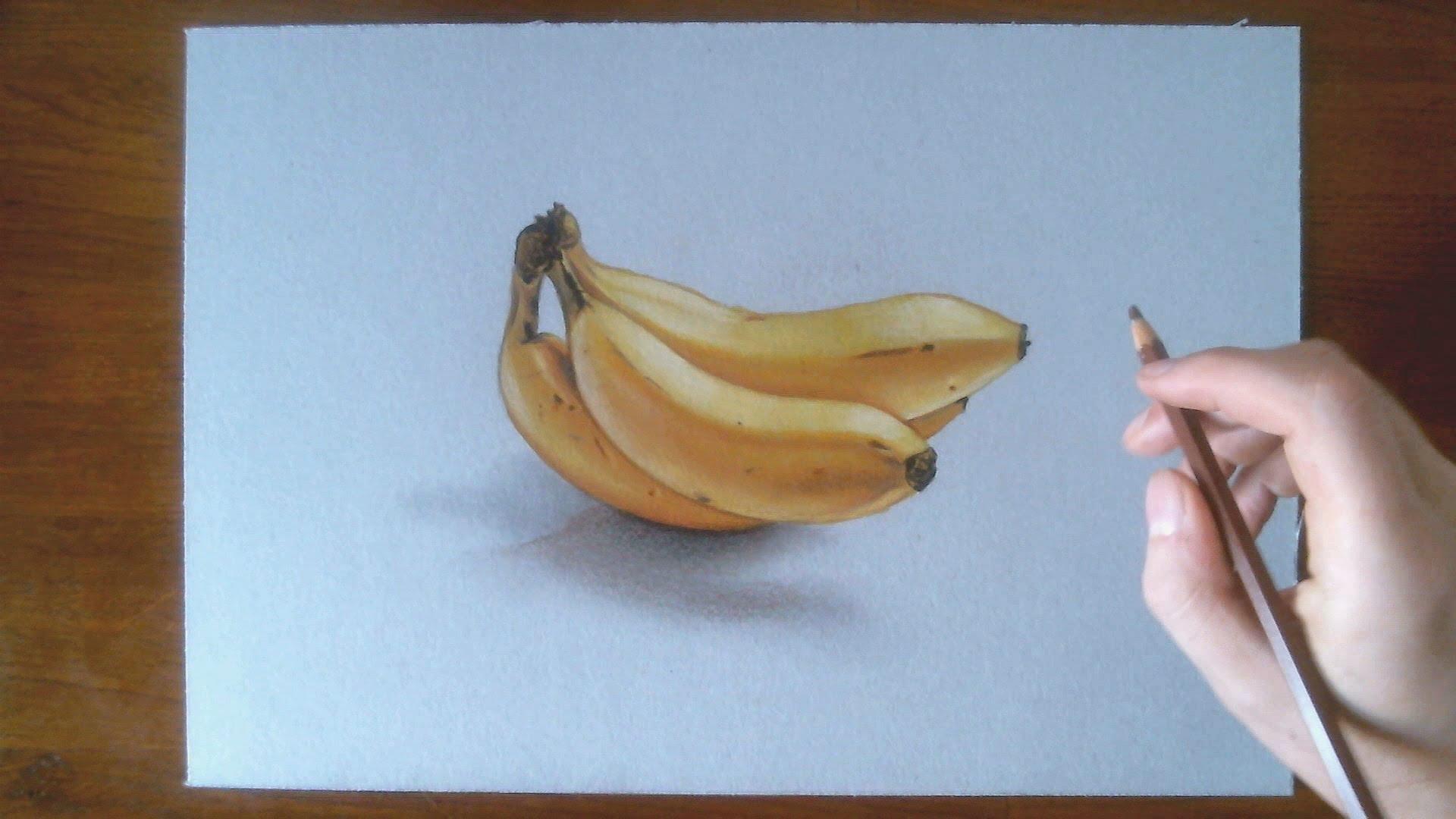 Drawn still life vintage Speed Bananas YouTube  Drawing