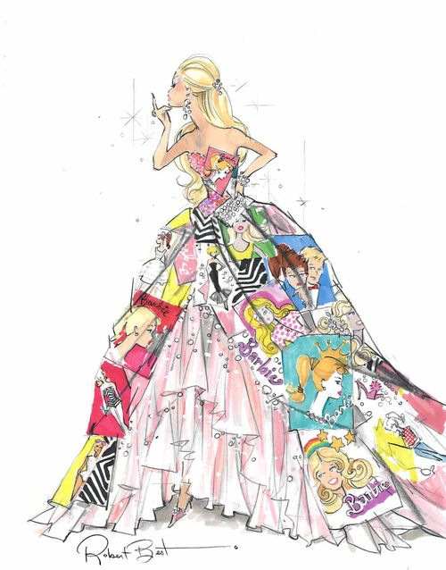 Drawn barbie barbie doll On Pinterest Couture 130 best