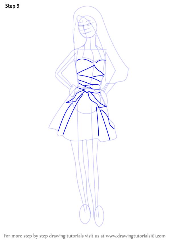 Drawn barbie barbie doll By : Step (Barbie) Doll