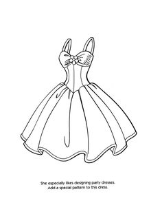 Drawn barbie color Dress games I Decoration ·