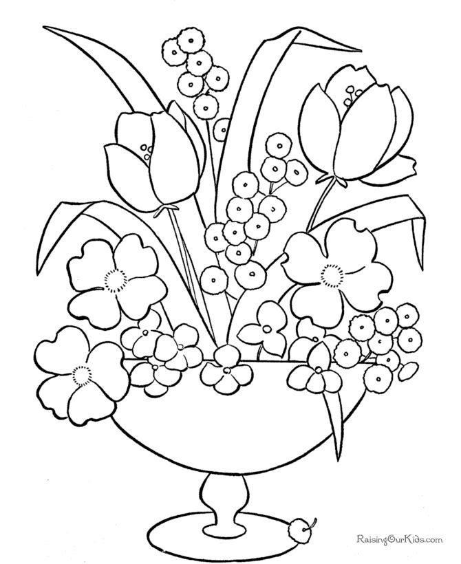 Drawn barbie flower Coloring Flowers Pinterest Just flowers