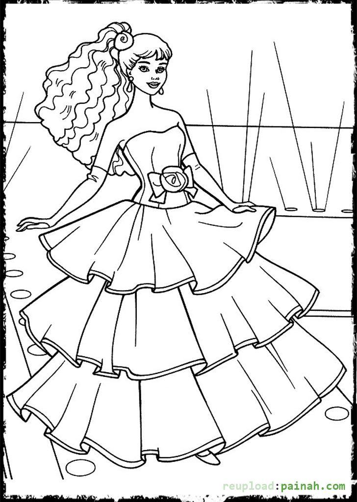 Drawn barbie frock Page Dress in Uncategorized 36