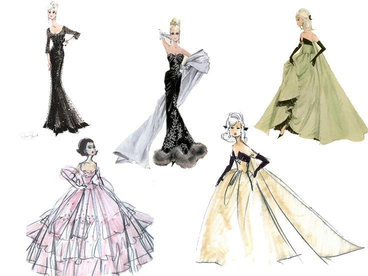 Drawn barbie gown wallpaper More on on Art~Drawn Pinterest
