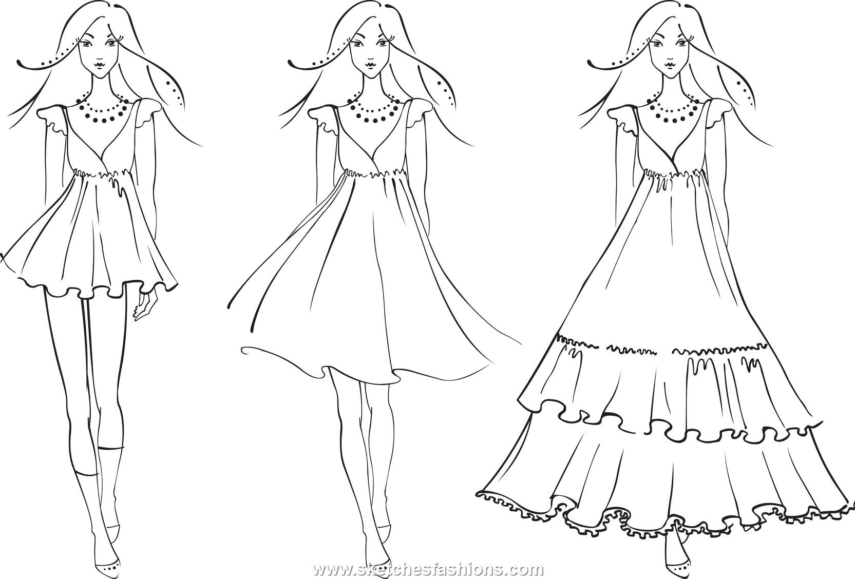 Drawn barbie gown wallpaper Pages Image And Design Dress