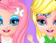 Drawn barbie painting For Pony Girl Games Little