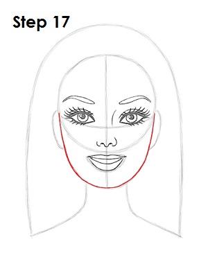 Drawn barbie step by step Draw Draw How to 17