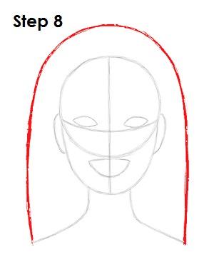 Drawn barbie step by step Draw Draw How to 8
