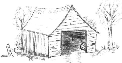 Drawn barn #1
