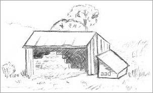 Drawn barn #7