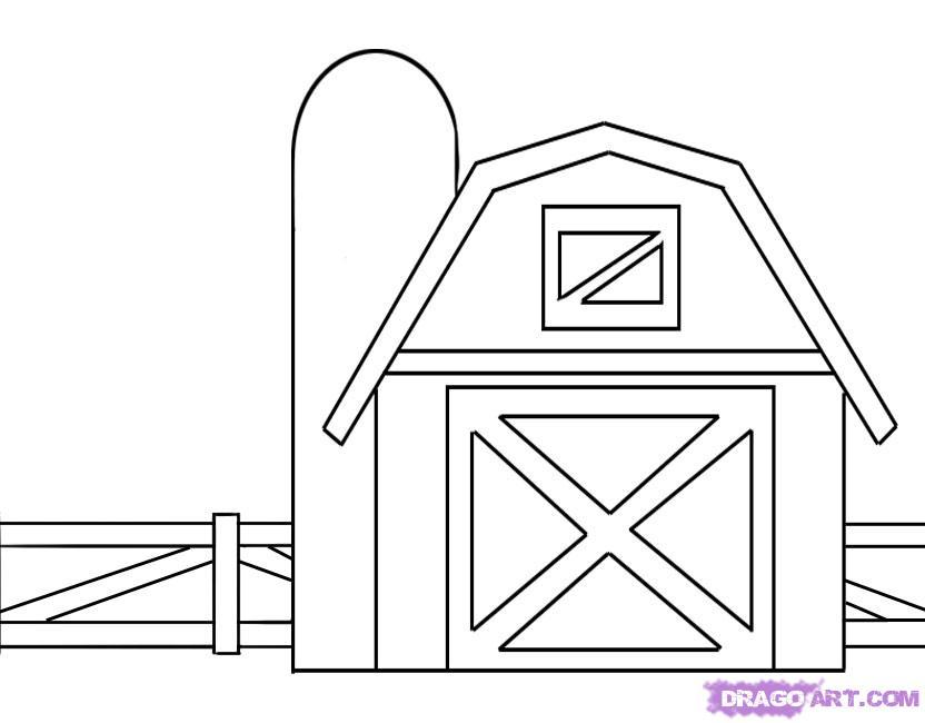 Drawn barn #9