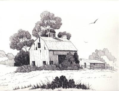 Drawn barn #11