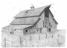 Drawn barn #13