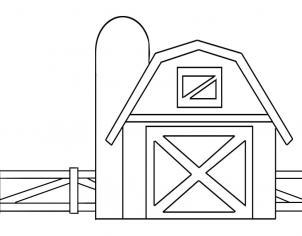 Drawn barn #3