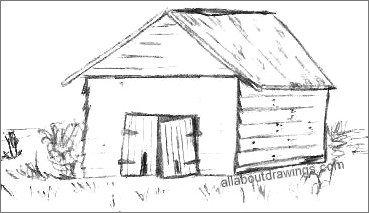 Drawn barn #4