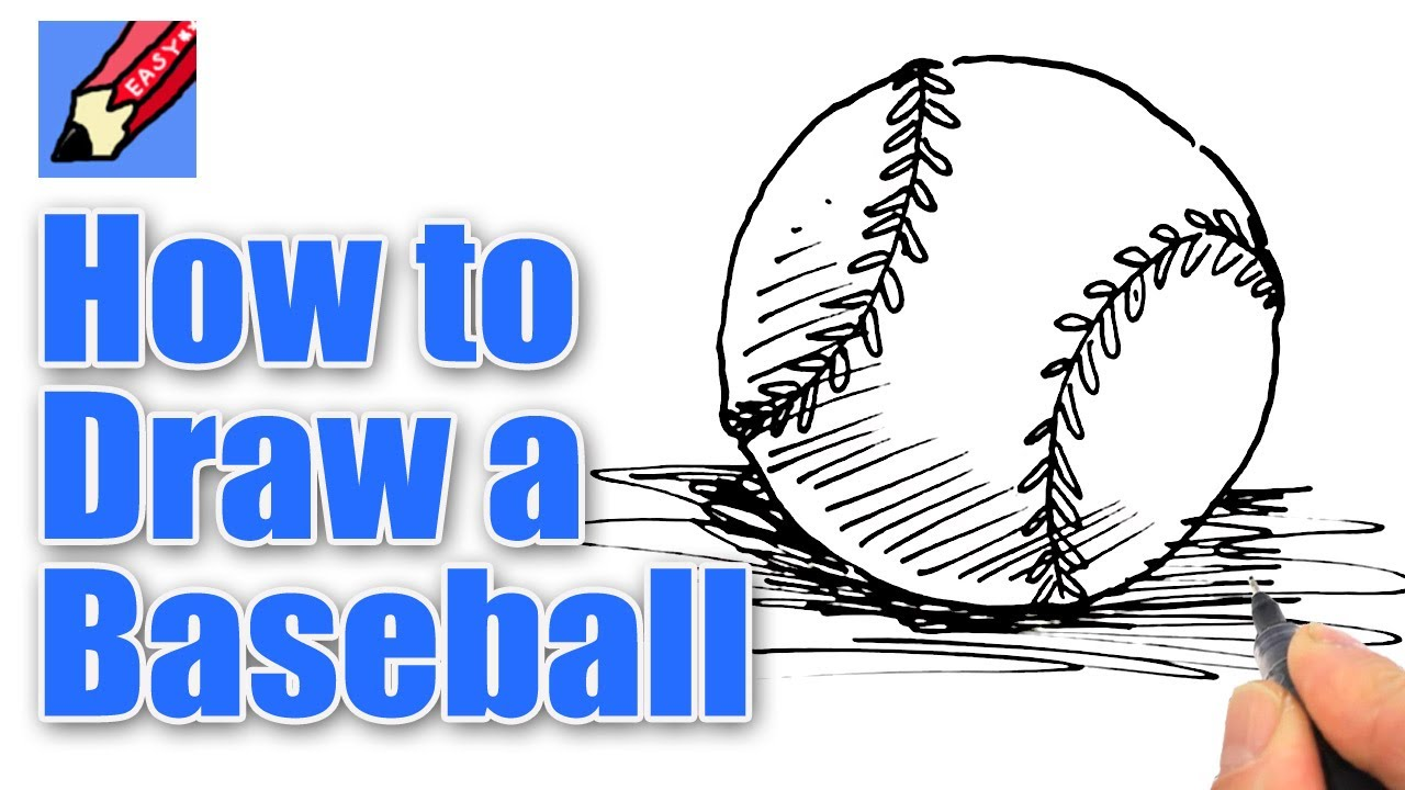 Drawn baseball To YouTube Easy Baseball draw