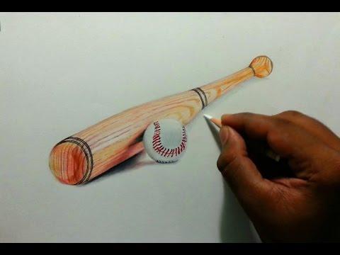 Drawn baseball baseball ball #12