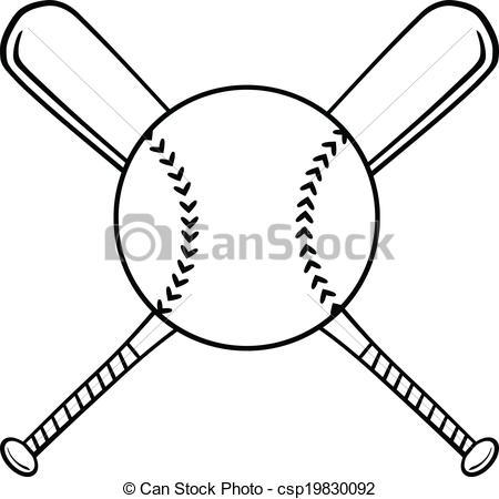 Drawn baseball baseball ball #13