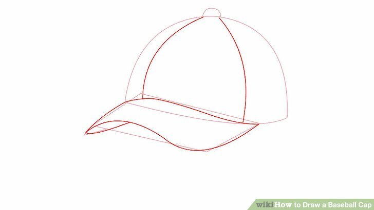 Drawn baseball baseball logo Titled How Cap: Step Cap