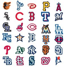 Drawn baseball baseball logo Major logos The 2012 Stickers