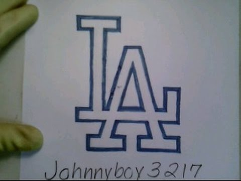 Drawn baseball baseball logo To Easy MLB Step Sign