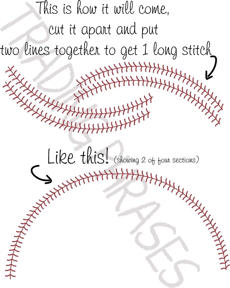 Drawn baseball baseball stitch Detailed Wall Stitches Wall images