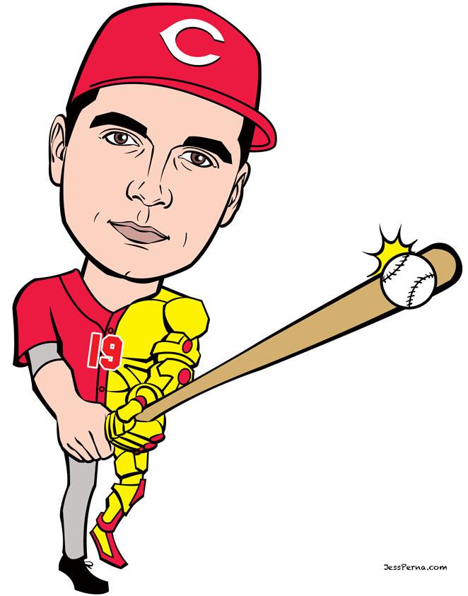 Drawn baseball cartoon And Cartoons Caricatures Gifts Baseball