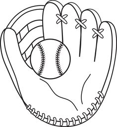 Drawn baseball softball Sports to Activity Baseball Pages