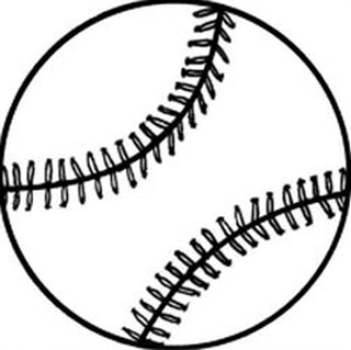 Drawn baseball softball Free clipart Free clipart Free