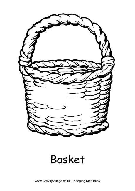 Drawn basket Basket Free Basket Page