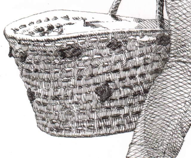 Drawn basket B 7 pen Page Posted