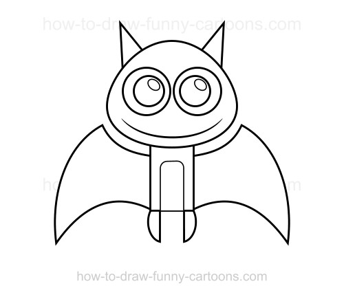 Drawn bat To draw a to a